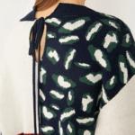 Gilet femme imprimé tendance léopard en ligne la selection parisienne noir et blanc