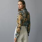 chemisier imprimé floral automne hiver femme vetement tendance la selection parisienne boutique mode en ligne 2