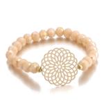 ensemble bracelets fantaisie rose doré perle femme bijoux tendance en ligne pas chers 2