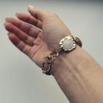 bracelet en cuivre pierres colorées bijou original bohème femme la selection parisienne 1