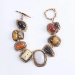 bracelet en cuivre pierres colorées bijou original bohème femme la selection parisienne cadeau en ligne