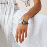 bracelet en cuivre pierres colorées bijou original bohème femme la selection parisienne 3