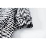 blouse imprimée vichy carreaux tendance femme boutique mode femme en ligne