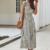 robe midi à volants blanche à pois noirs 2