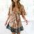 robe mini imprimée boho 1
