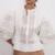 blouse blanche brodée femme boho la selection parisienne