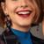 boucles d'oreilles fantaisie pendantes colorées chic femme pas cher en ligne