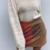 mini jupe tricolore marron orange pour femme mode automne hiver la selection parisienne eshop boutique
