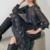 robe midi imprimée python femme hiver vetement tendance