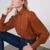 chemisier marron chic femme automne hiver boutique la selection parisienne en ligne
