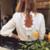 blouse blanche chic tendance printemps 2021 femme