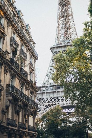 Tour Eiffel Paris immeuble Haussmanien V