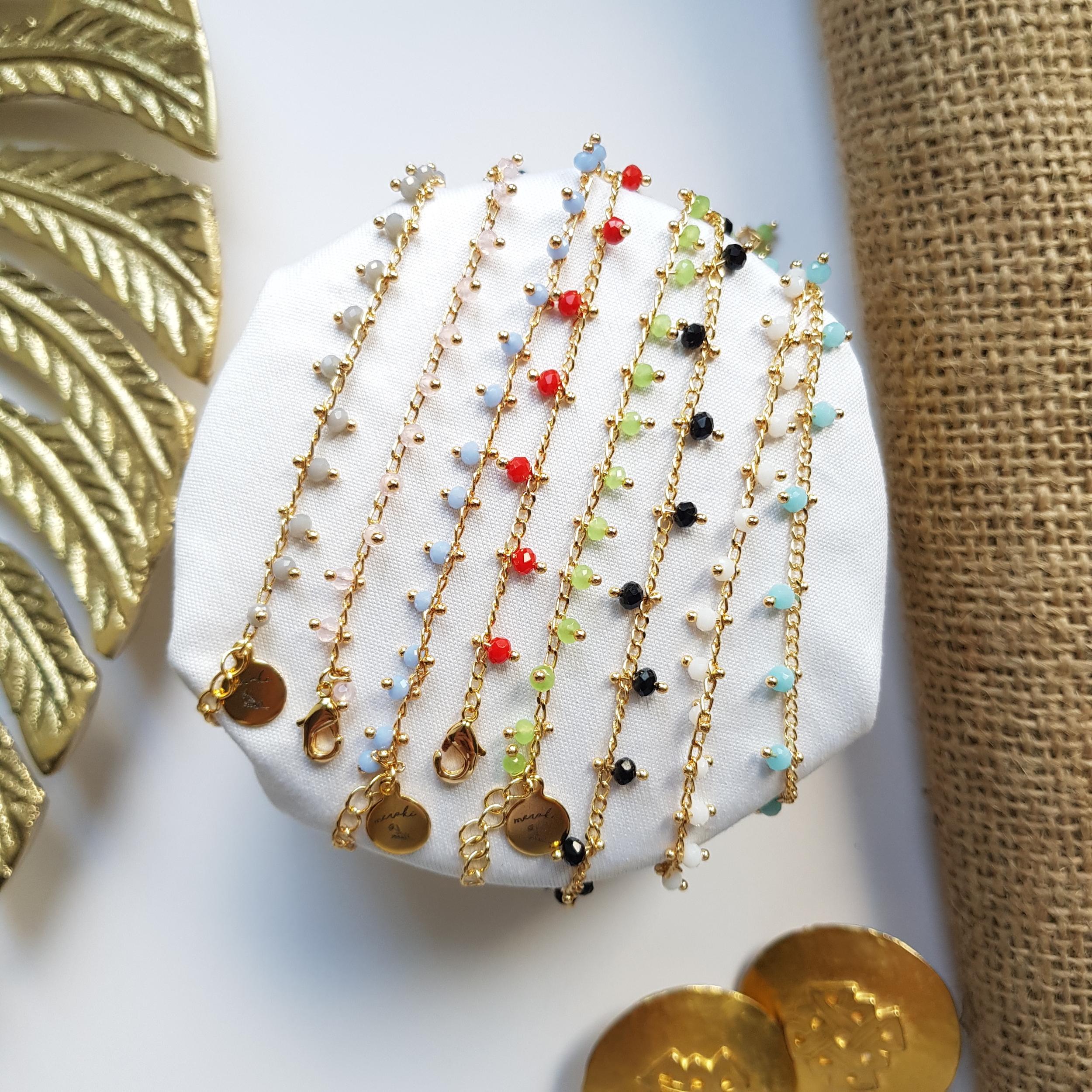 Bracelet de cheville - Color