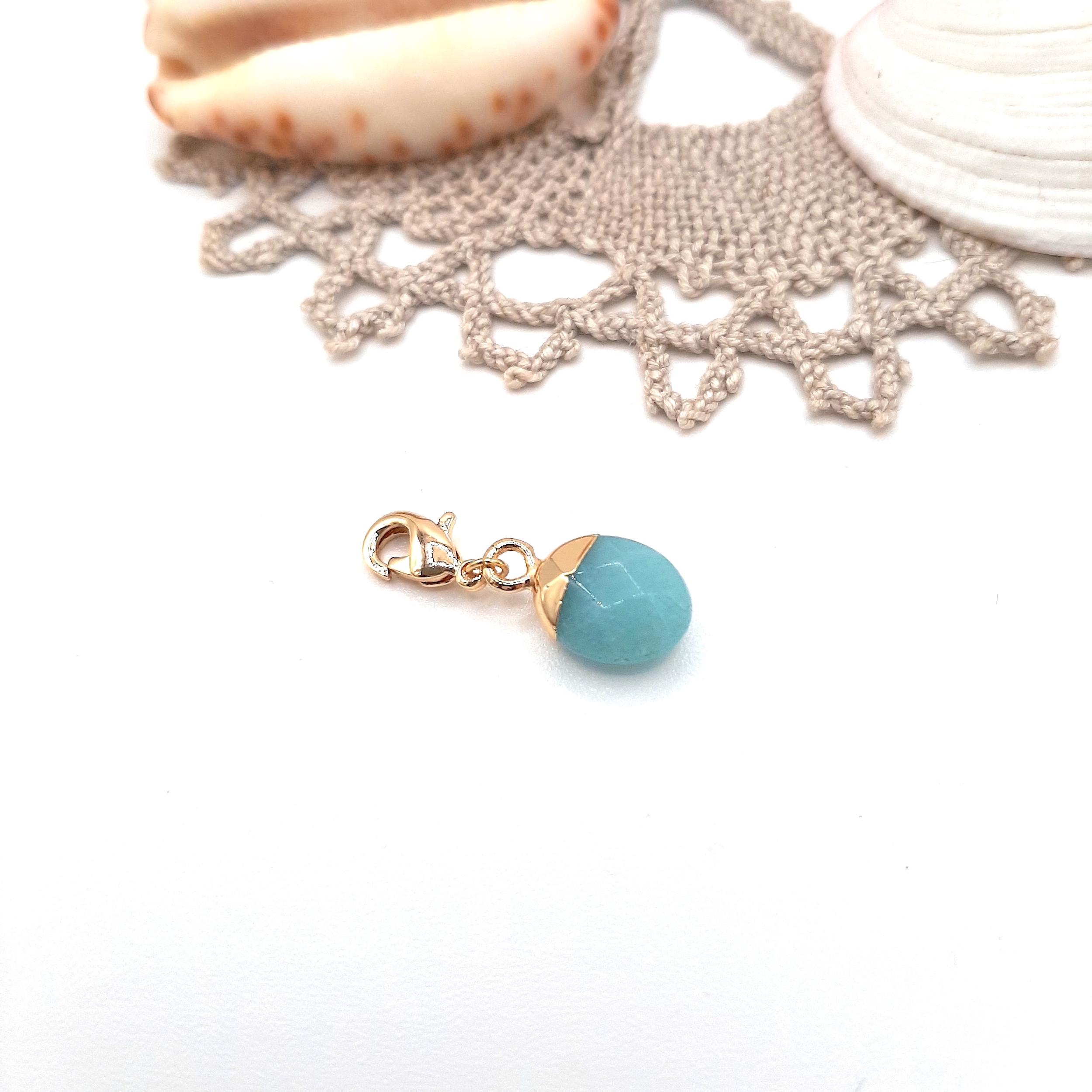 Clip - Pierre Turquoise