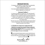 carré BON Masques utilisation