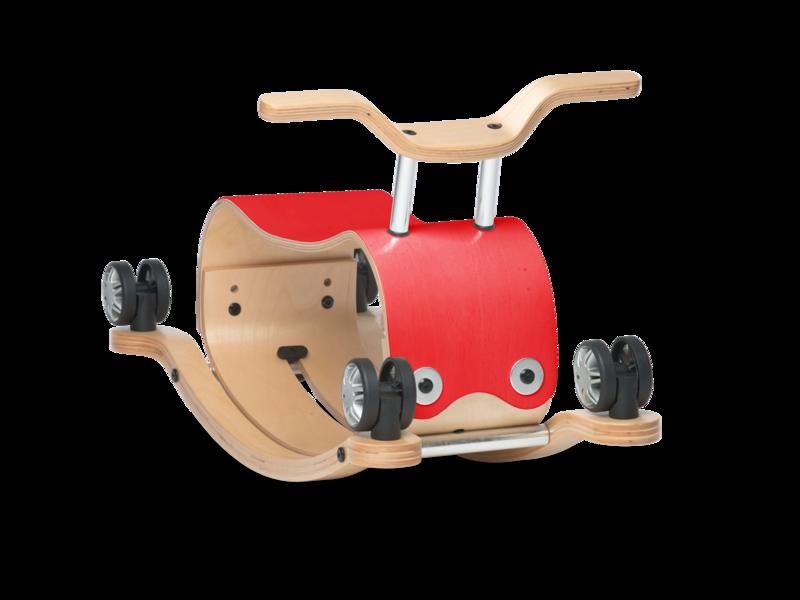 Wishbone Flip rouge