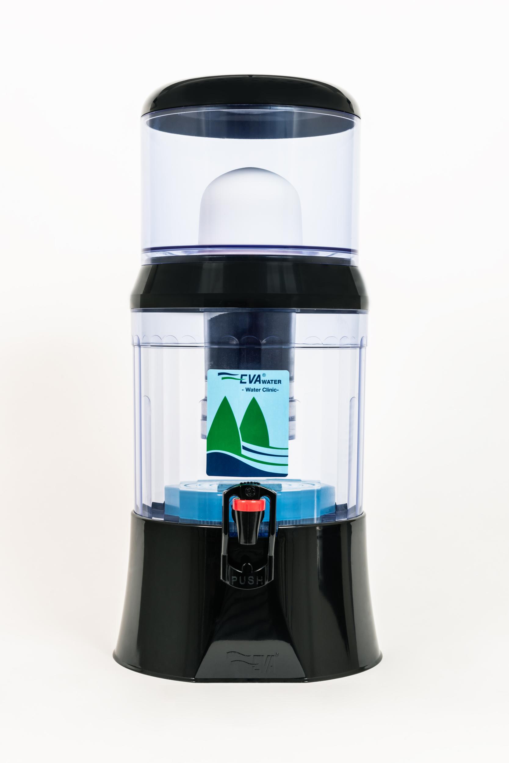fontaine 7 litres noire PLC