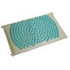 tapis d'acupression fleur de vie Shantimat Turquoise
