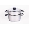 faitout et passoire inox 18/10 - cuisson basse température