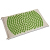 tapis d'acupression fleur de vie Shantimat vert