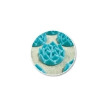 fleur de vie Shantimat turquoise
