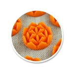fleur de vie Shantimat orange