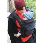 Porte-bébé Physiocarrier Noir poche Anthracite Love radius - JPMBB