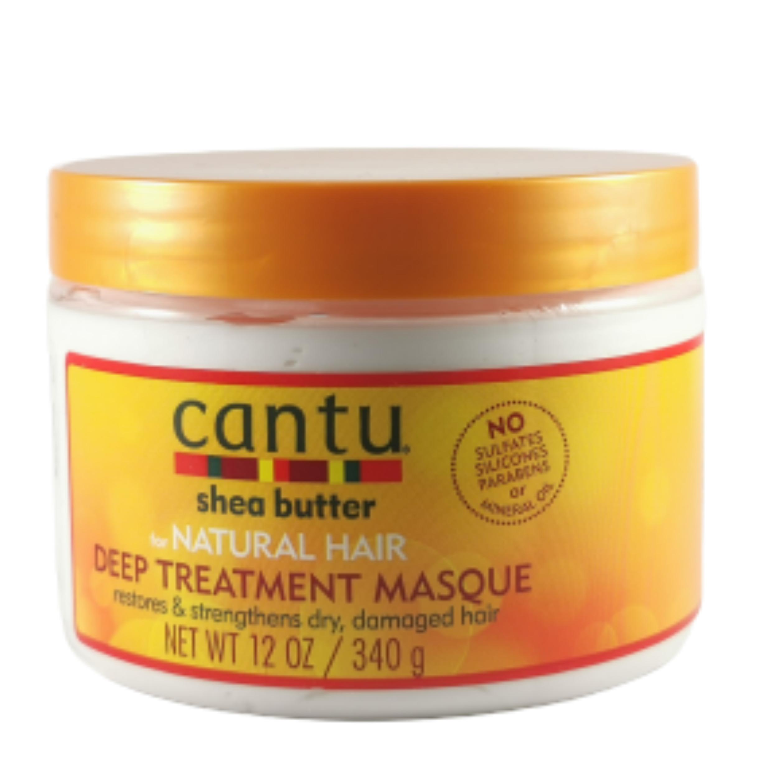 Masque capillaire intensif. Pénètre la fibre pour réparer vos cheveux abîmés - CANTU