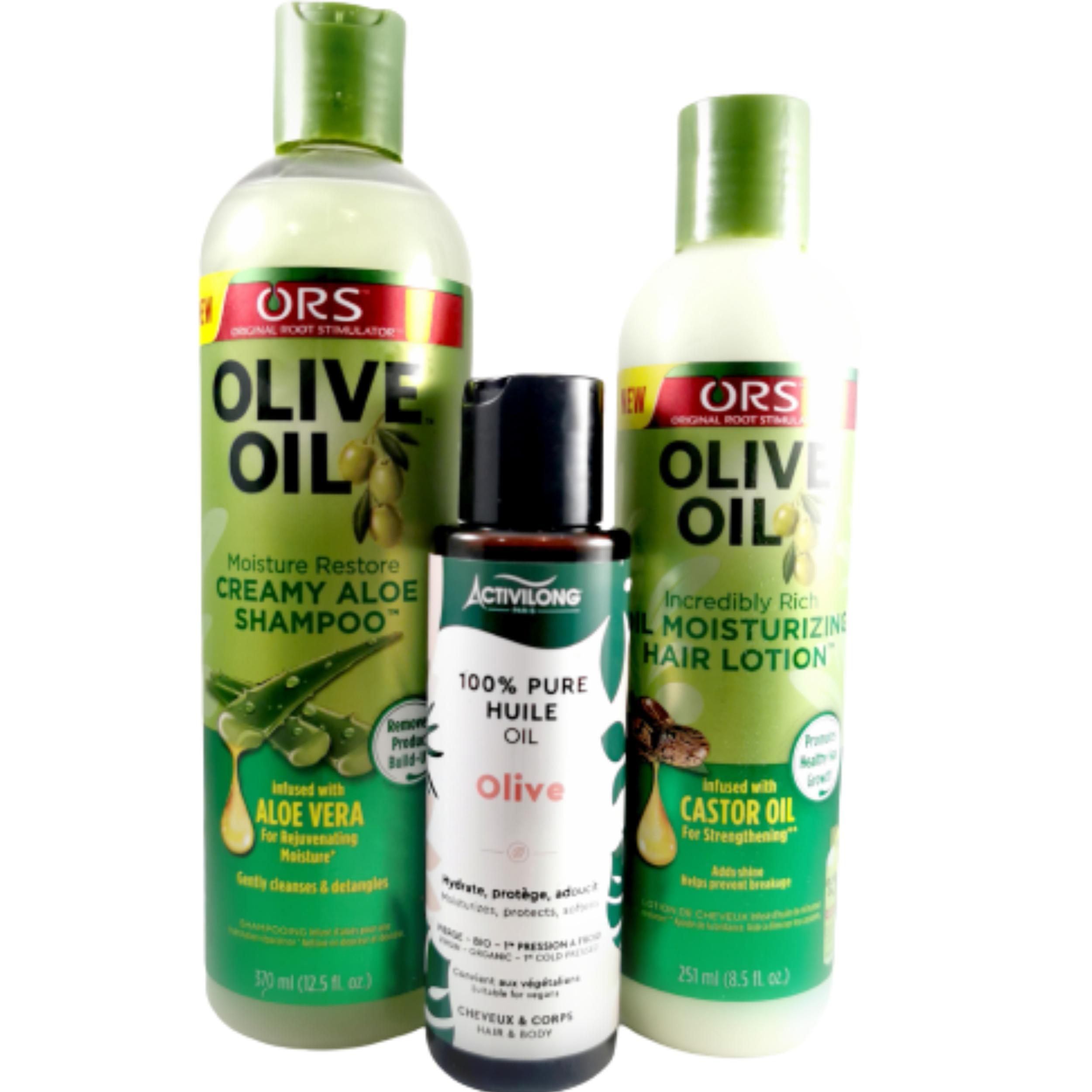 Box Brillance à base d\'olive. Chevelure brillante, hydratée de façon continue - ACTIVILONG