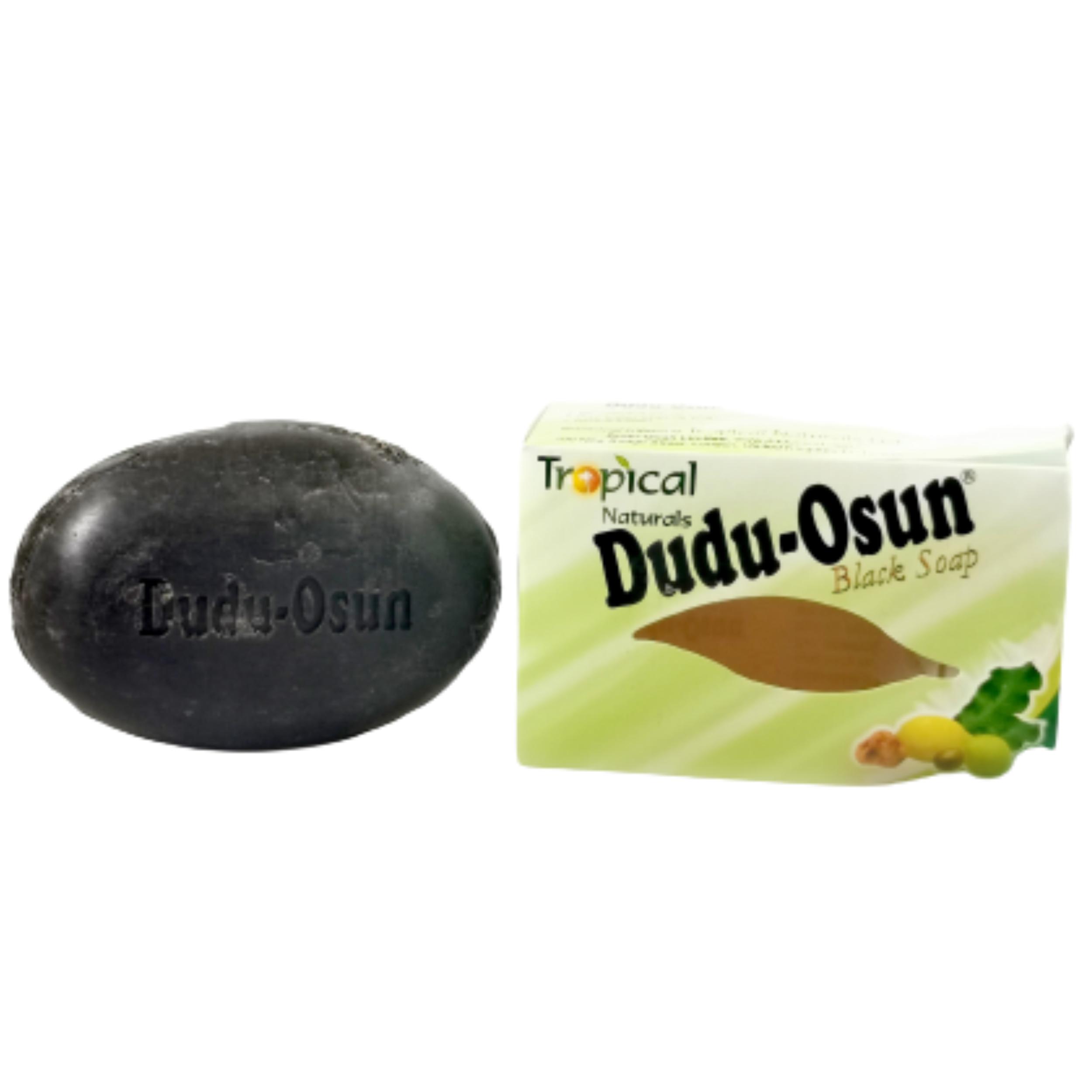 Savon noir. Nettoie en profondeur, enlève les taches et impuretés de la peau- Dudu-Osun
