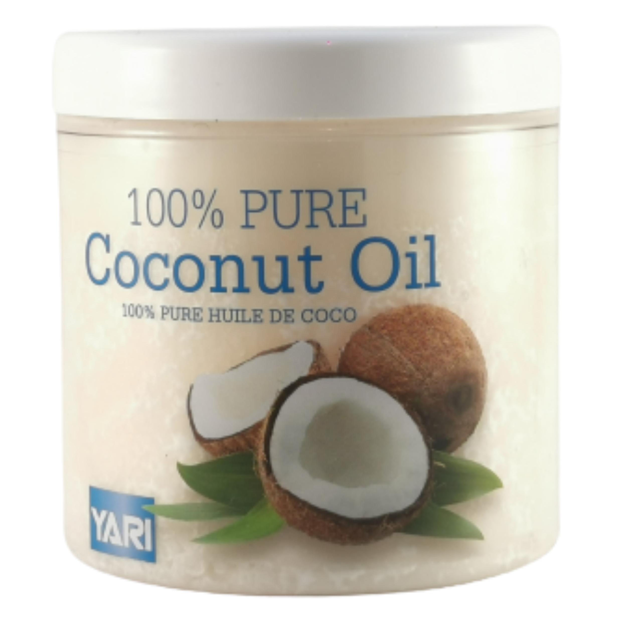 Huile de coco pour peau et cheveux. Nourrit, hydrate et protège continuellement  - YARI