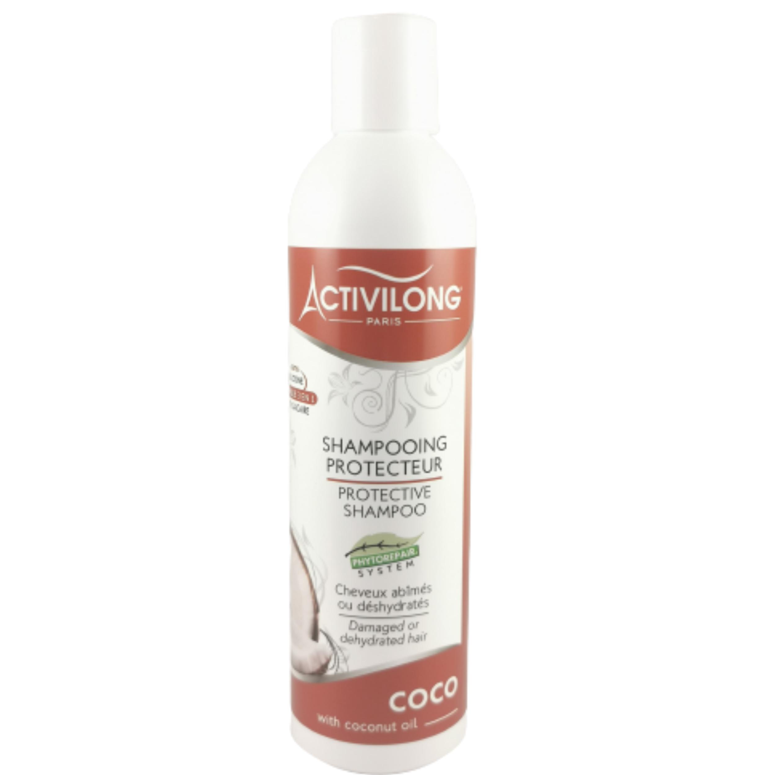 Shampooing coco. Renforce et protège les cheveux abîmés ou déshydratés - ACTIVILONG