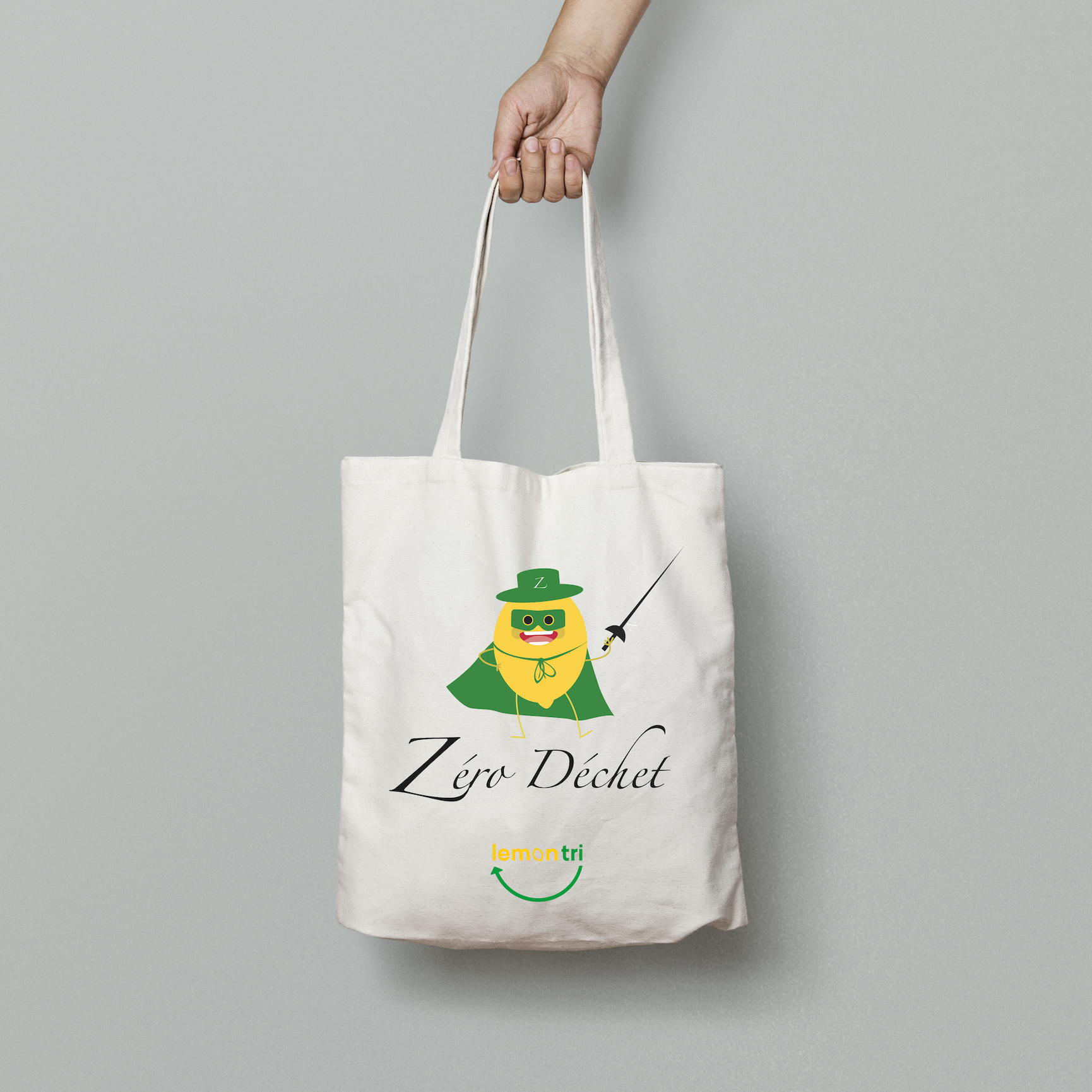 Tote Bag Zéro Déchet