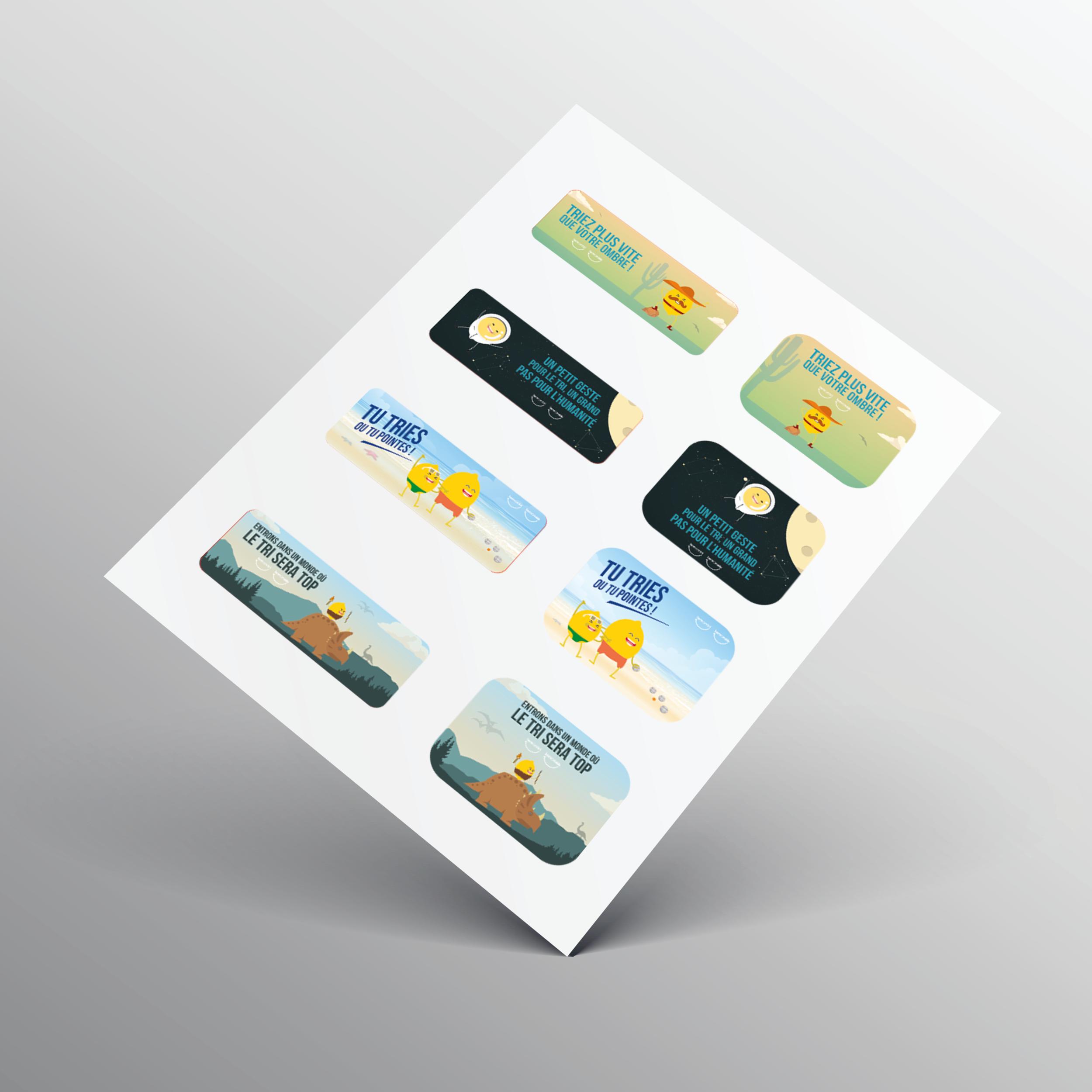 Stickers - Planche Jeux de Mots