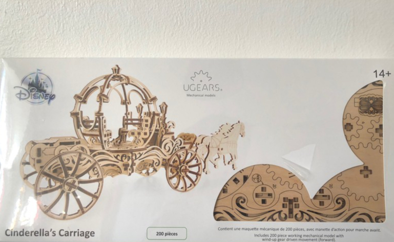 Cendrillon - Ugears Mechanical Models : Disney Cinderella\'s carriage