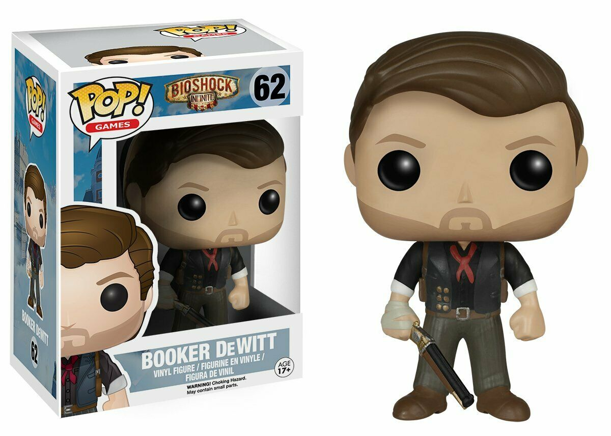 Bioshock Infinite - Bobble Head Funko Pop N° 62 : Booker DeWitt