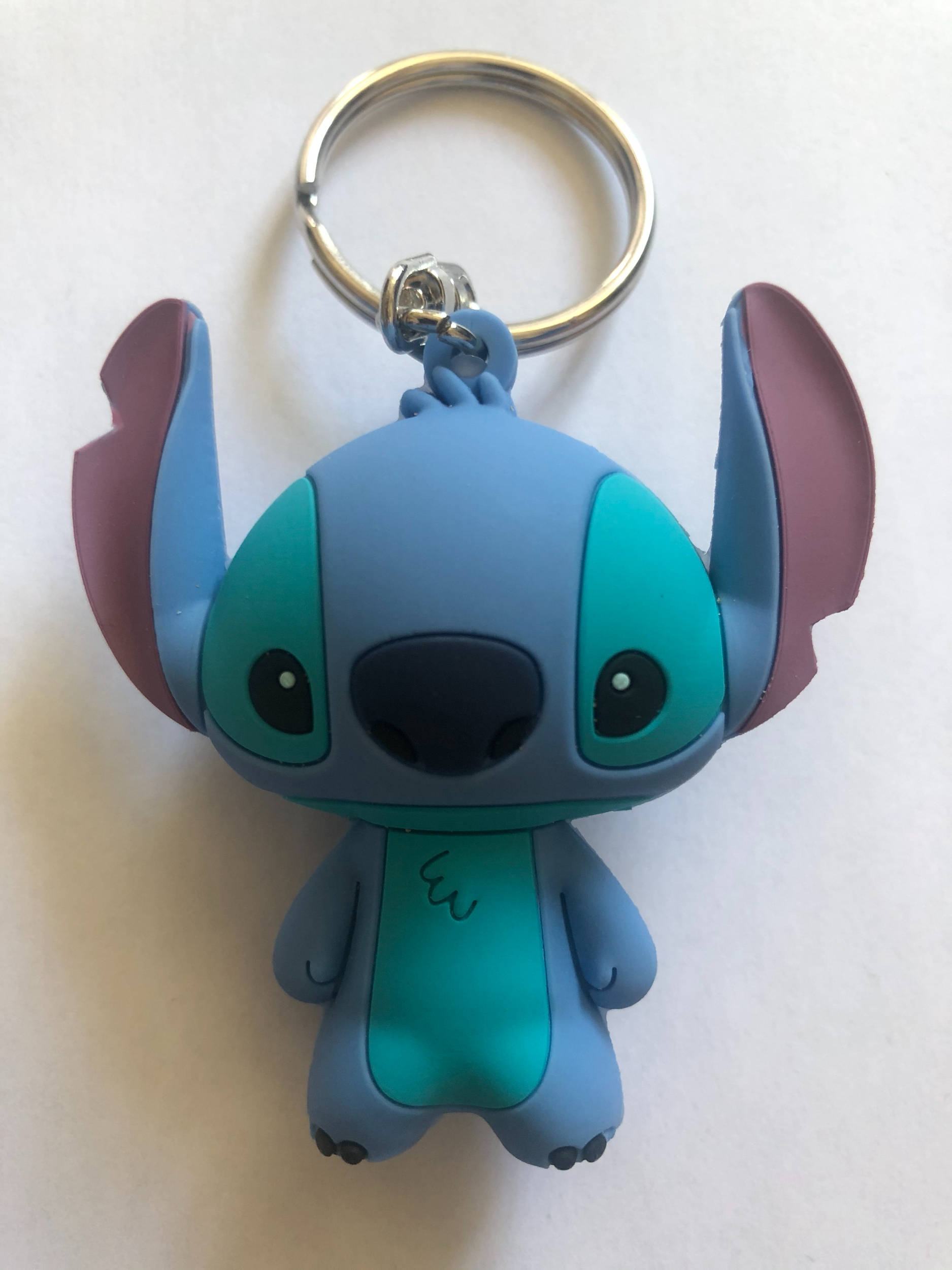 Dsney - Lilo et Stitch : Porte-clé Stitch SPVC