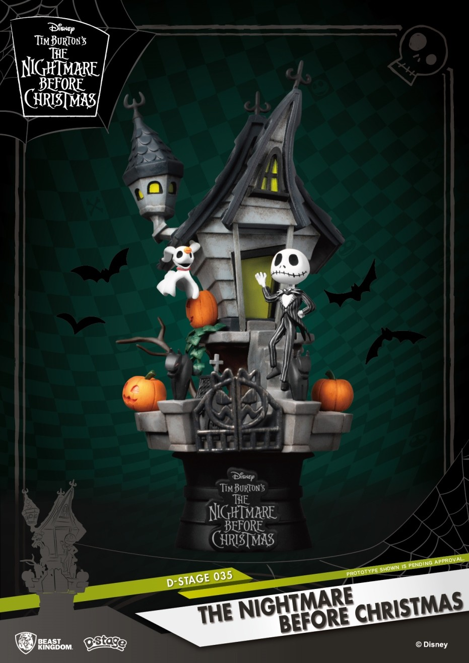 Disney - D-Select : Figurine Diorama Jack The Nightmare Before Christmas