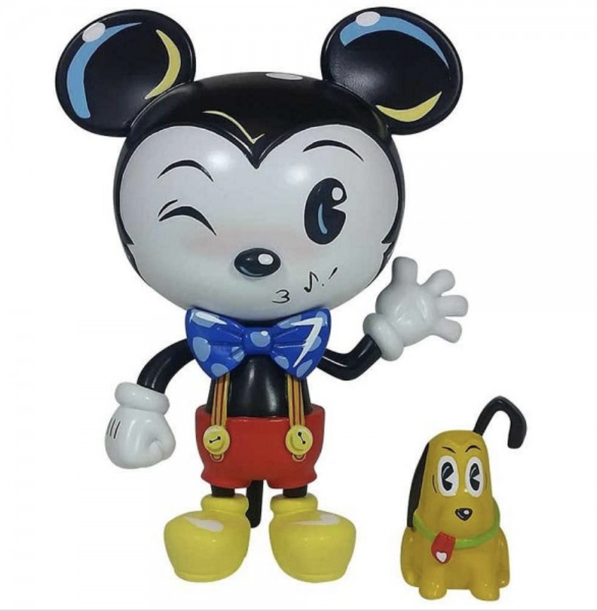 Disney - Miss Mindy : Figurine Mickey Mouse & Pluto