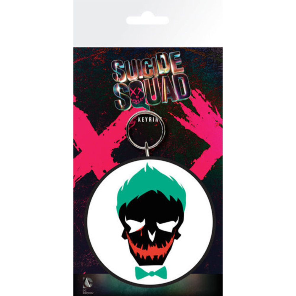 DC Comics - Suicide Squad : Porte-clé Joker Skull
