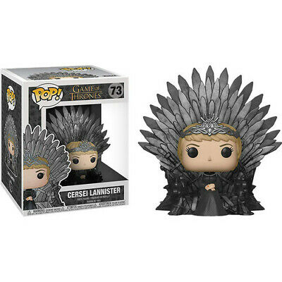Game of Thrones - Bobble head Funko Pop N° 73 : Cersei Lannister (BOÎTE ENDOMAGÉE)