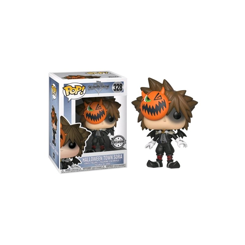 Kingdom Hearts - Bobble Head Funko Pop N° 328 : Halloween Town Sora