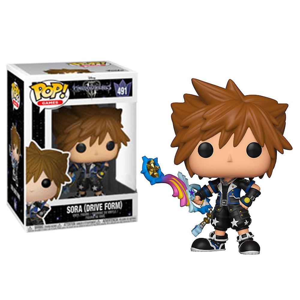 Kingdom Hearts III - Bobble Head Funko Pop N° 491 : Sora (Drive Form)