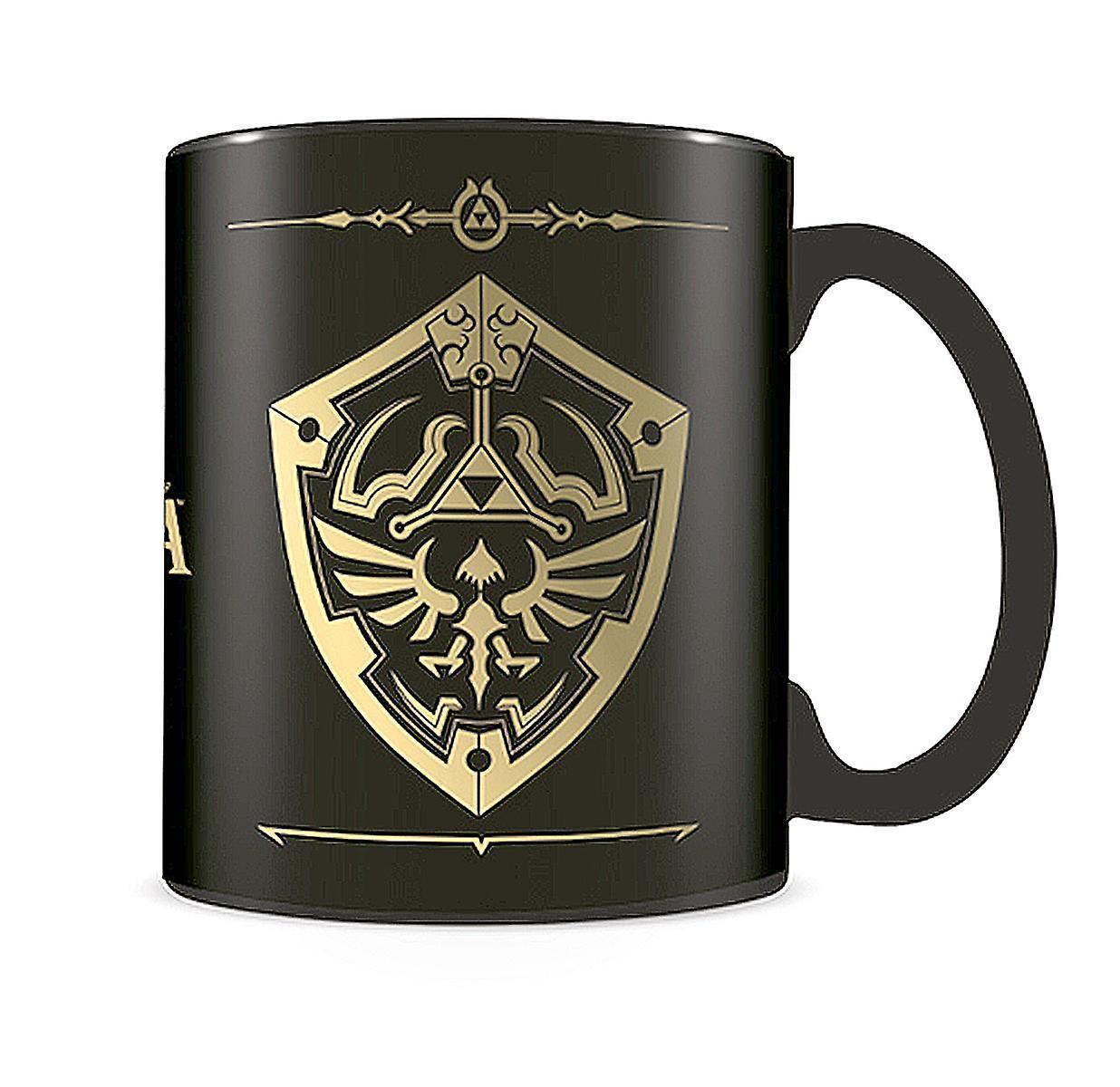 Nintendo - The Legend of Zelda : Foil Mug bouclier Hylian Shield