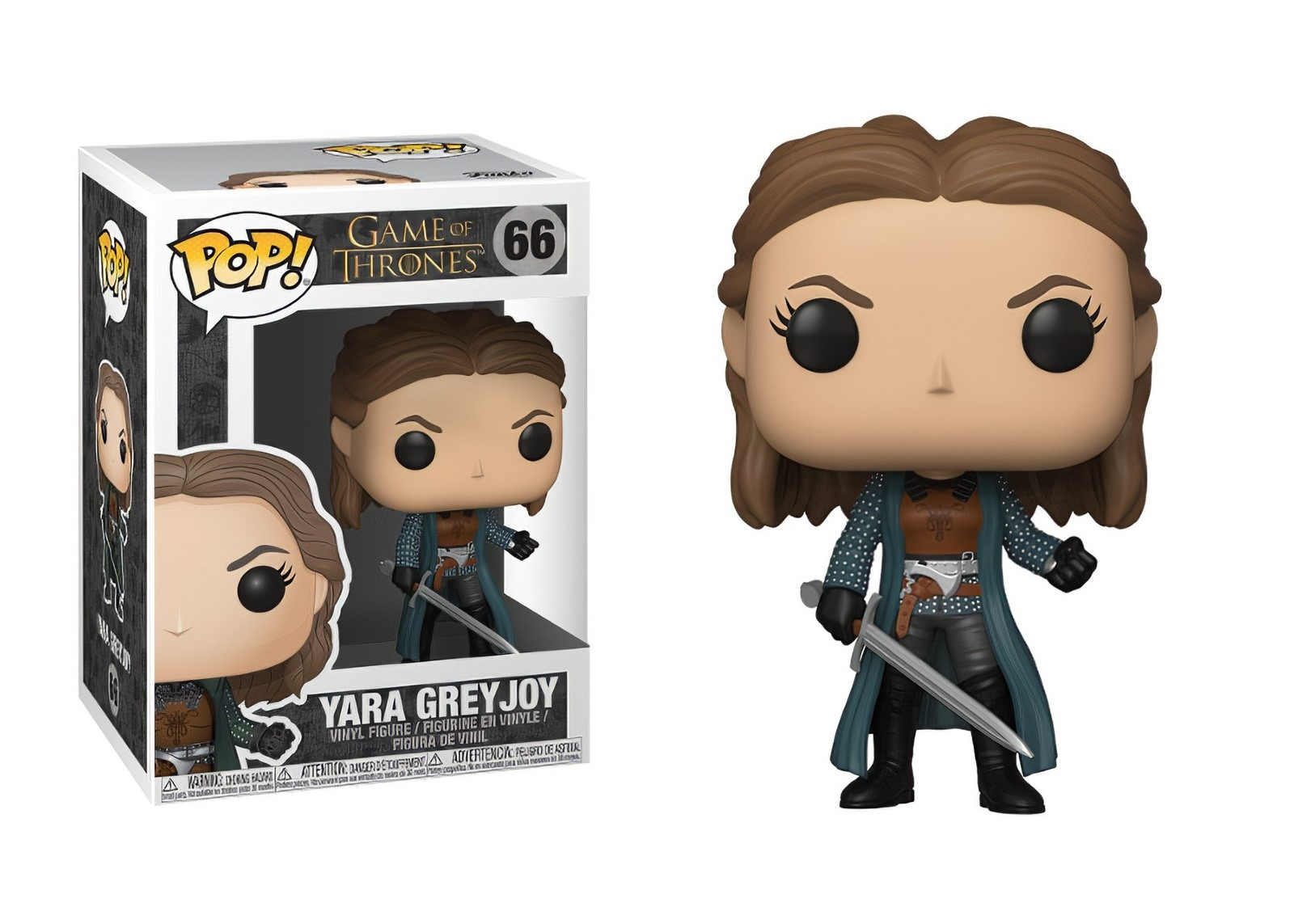 Game of Thrones - Bobble Head Funko Pop N° 66 - Yara Greyjoy