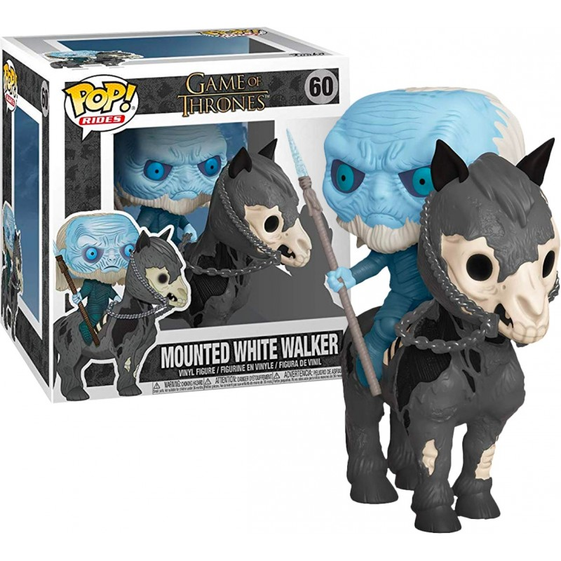 Game of Thrones - Bobble Head Funko Pop N° 60 : Mounted White Walker on House