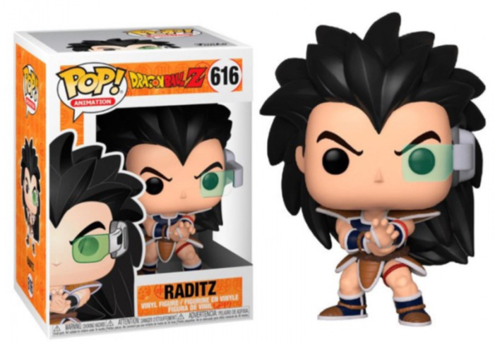 Dragon Ball Z - Bobble Head Funko Pop N° 616 - Raditz