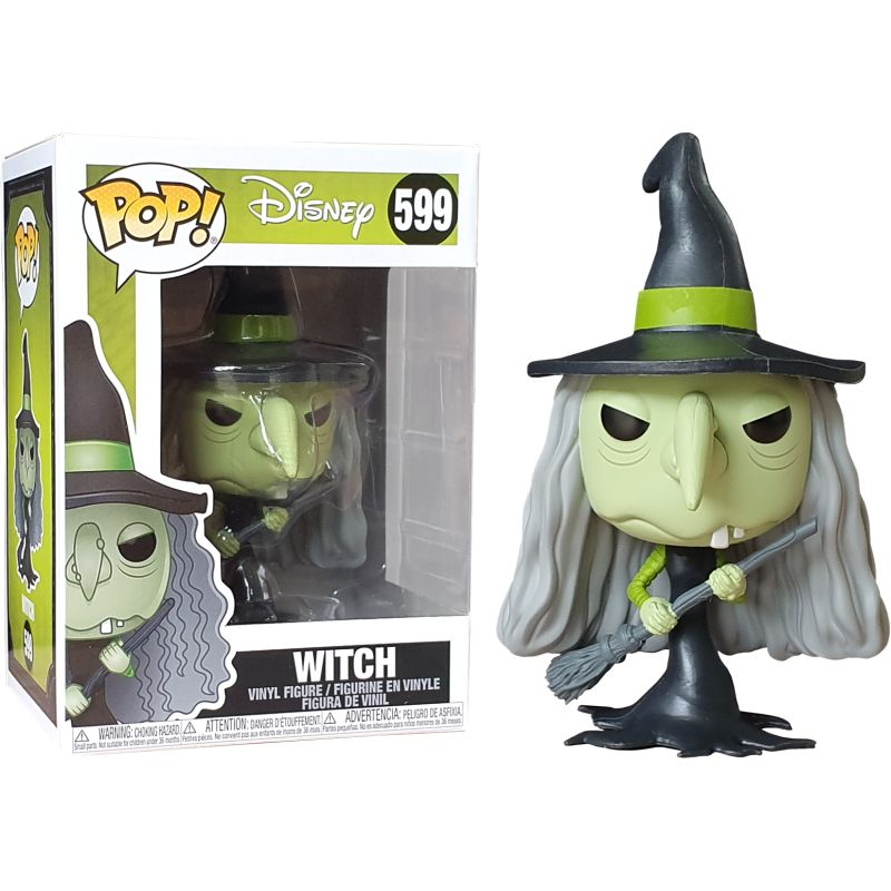 L\'étrange noël de Monsieur Jack - Bobble Head Funko Pop N° 599 : Witch