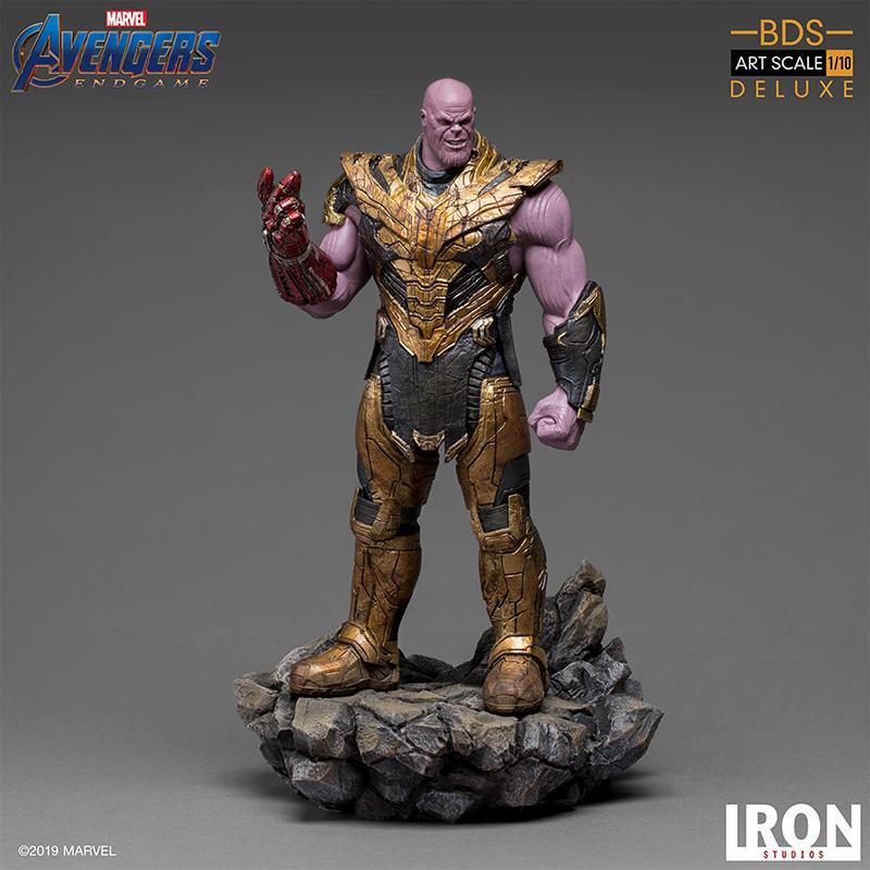 Marvel - Iron Studios : Figurine THANOS Black Order BDS art scale 1/10 (AVENGERS ENDGAME)