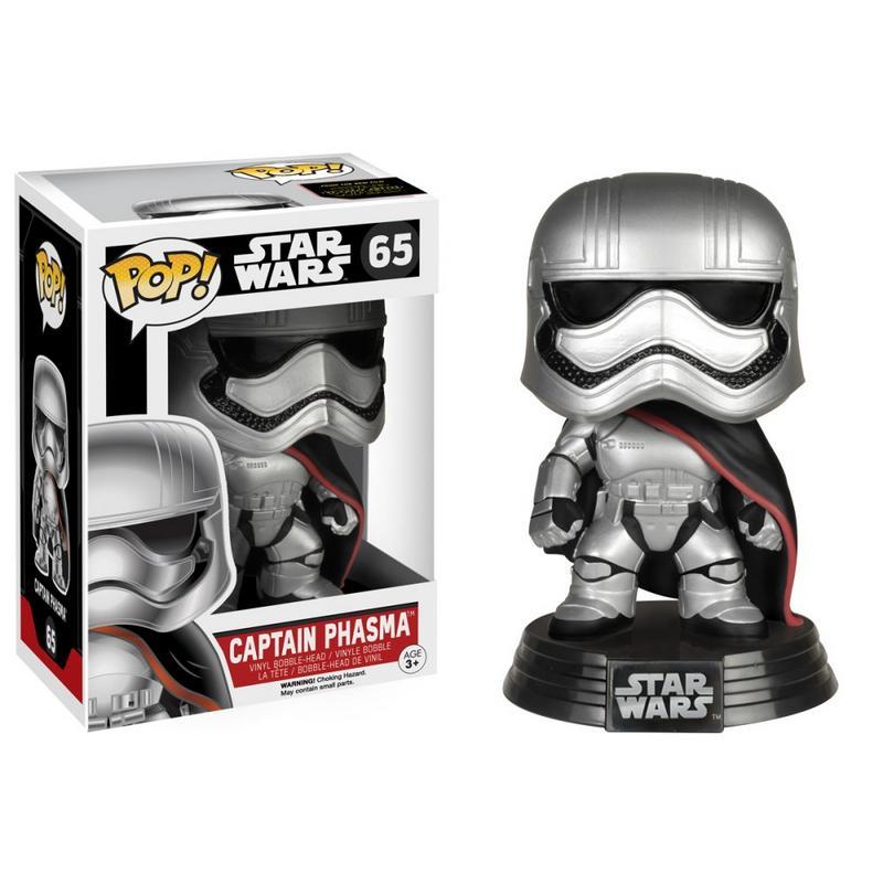 Star Wars - Bobble Head Funko Pop N° 65 : Captain Phasma